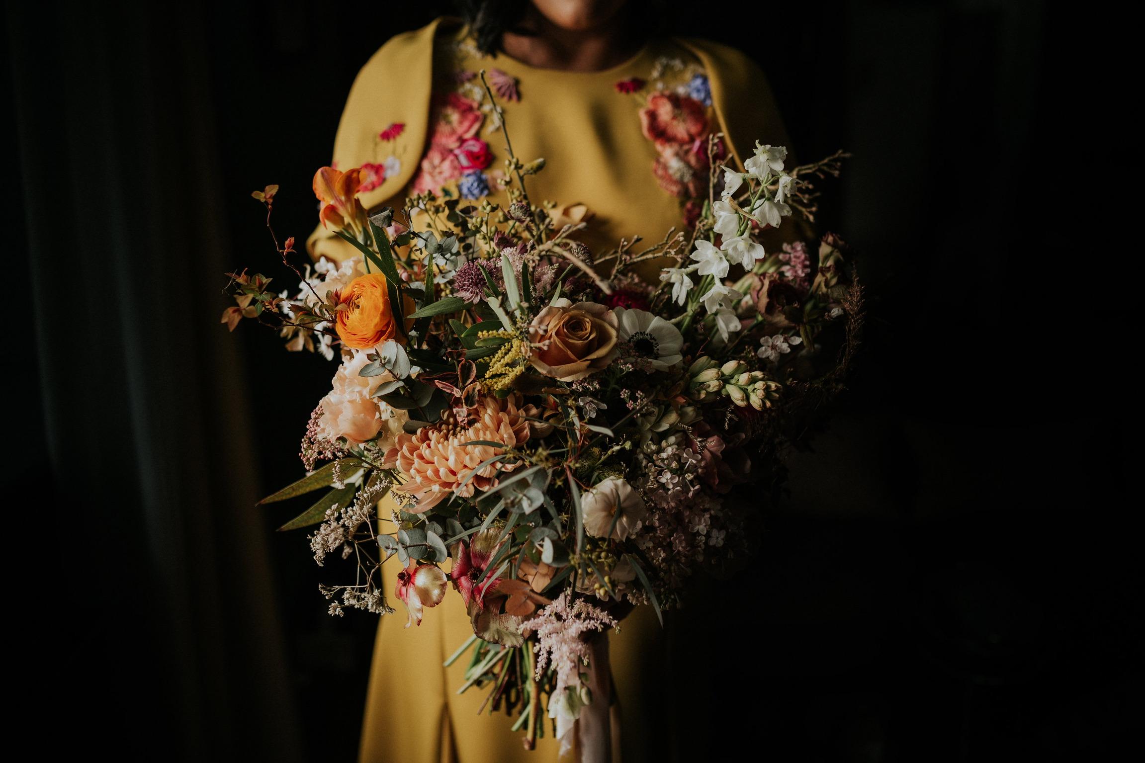 Saint Floral bridal bouquet