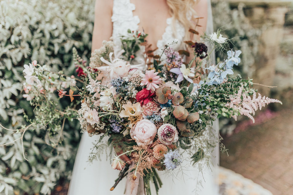 Saint Floral Wedding Flowers Bridal Bouquet