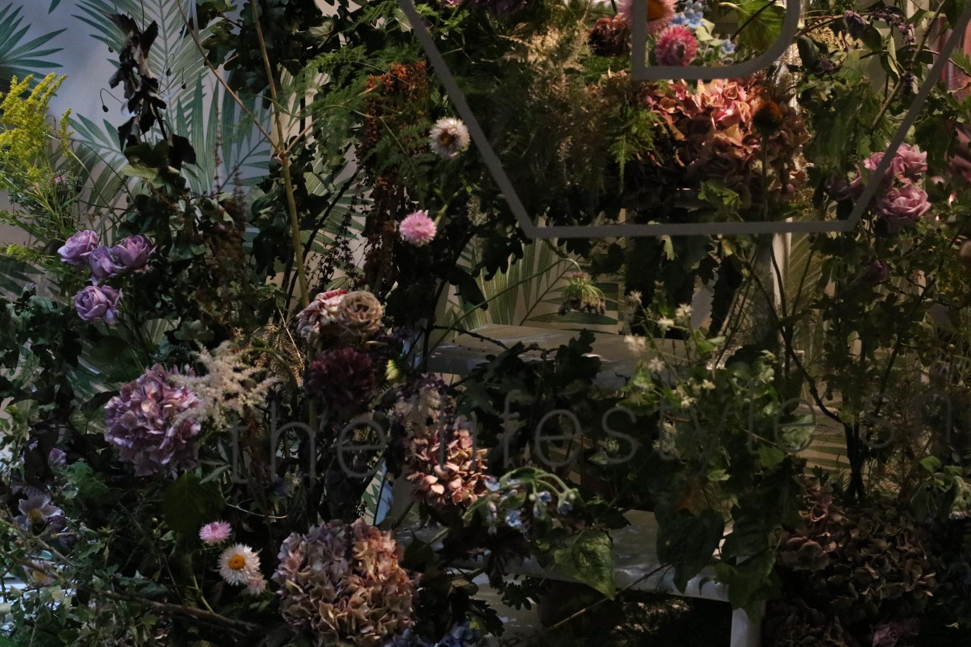 Saint Floral Shop Window Installation