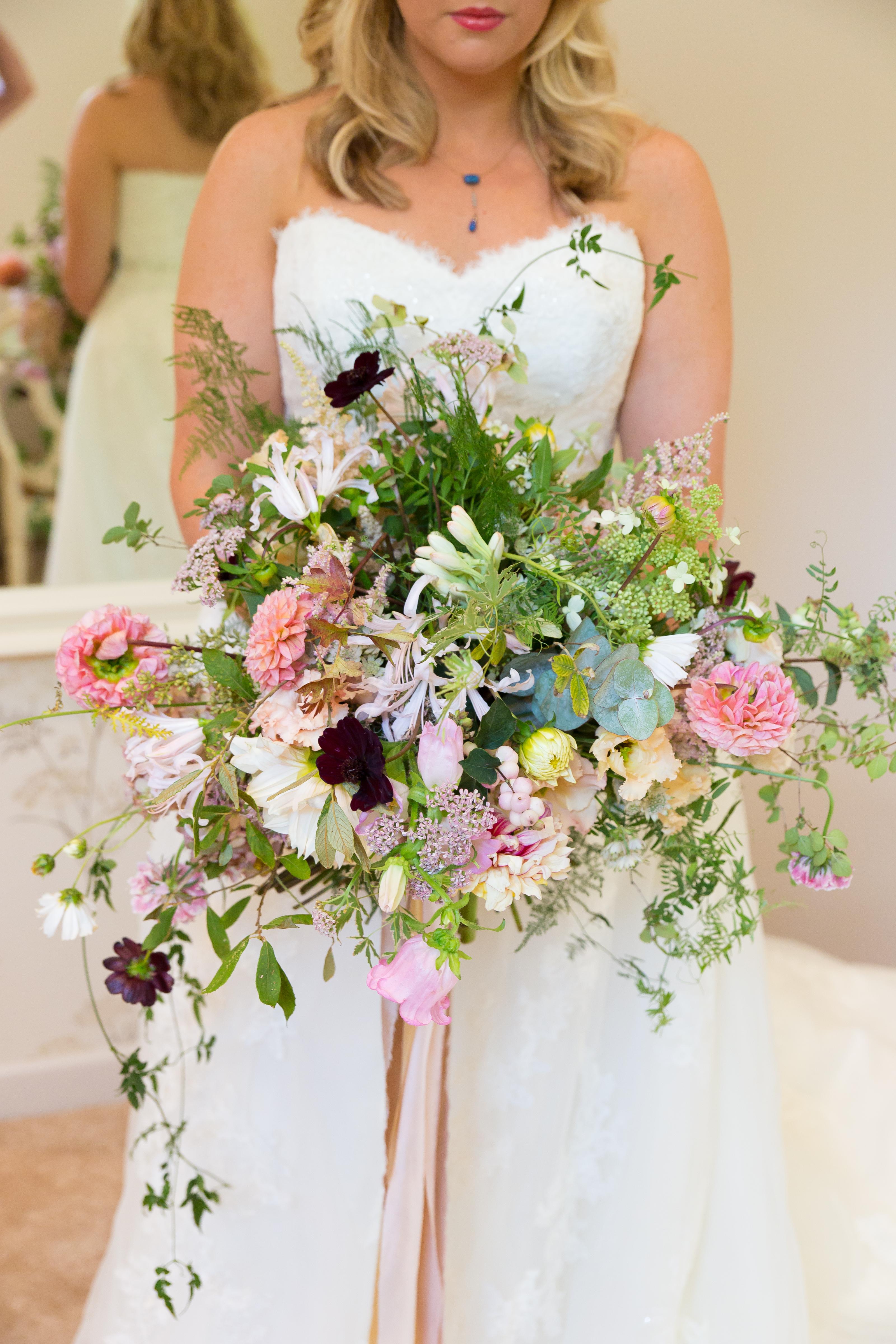 Wedding Flowers Bridal Bouquet Summer Wedding