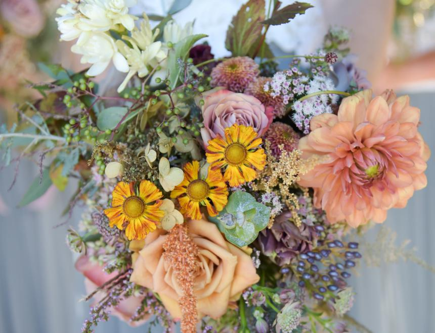 Saint Floral wedding flowers Hampshire wedding