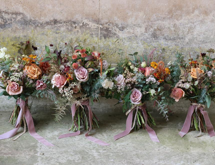 Saint Floral wedding flowers The Grange Hampshire