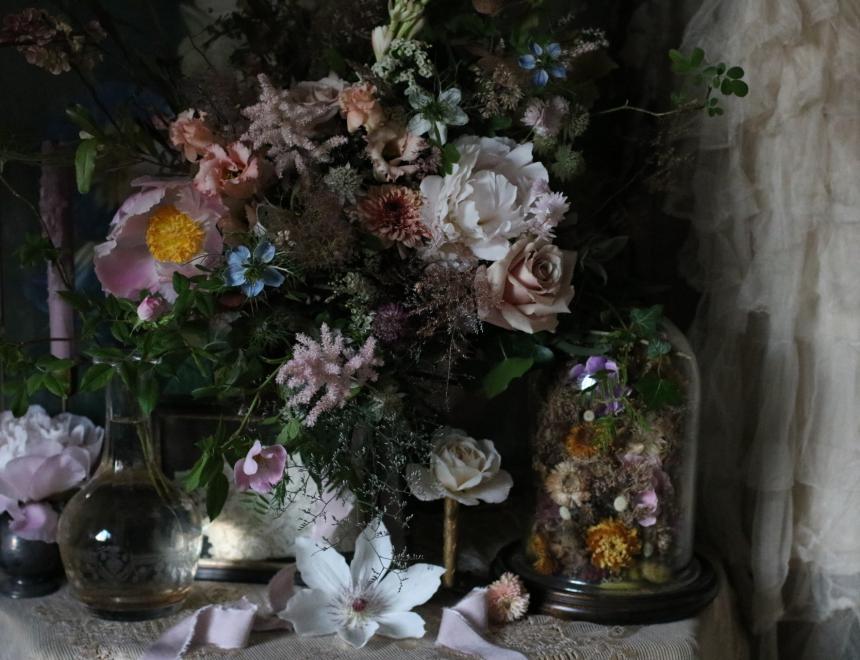 Saint Floral Wedding Flowers Beyond Magazine St Regis Hotel