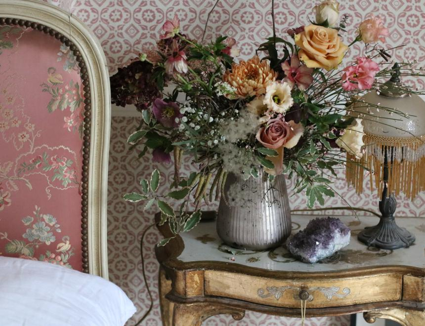 Saint Floral flowers Pearl Lowe Mail On Sunday